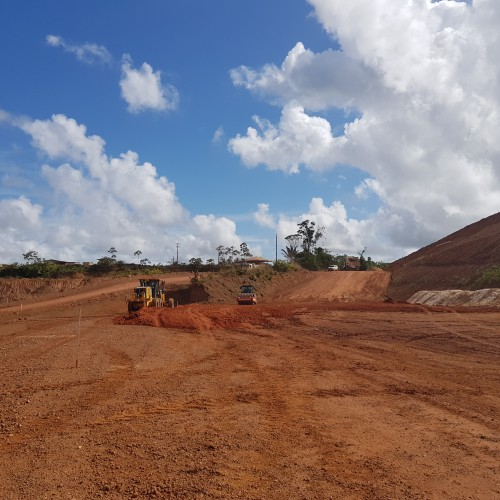 January - Earthworks continuing for TSF raise